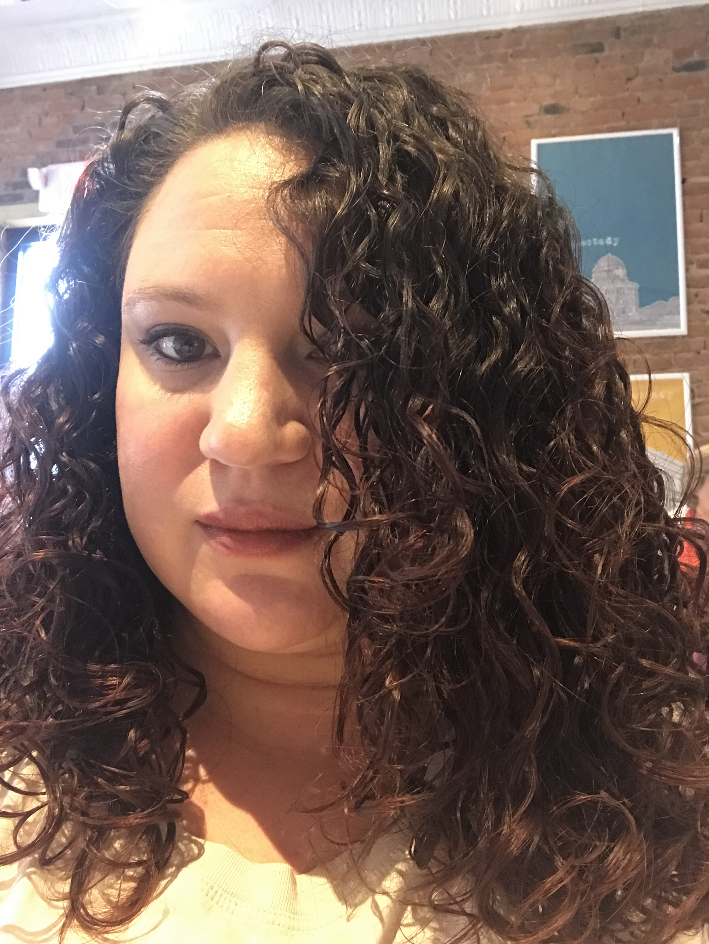 Curly Girl Challenge The Haircut Sick And Twisted The Beauty Blog